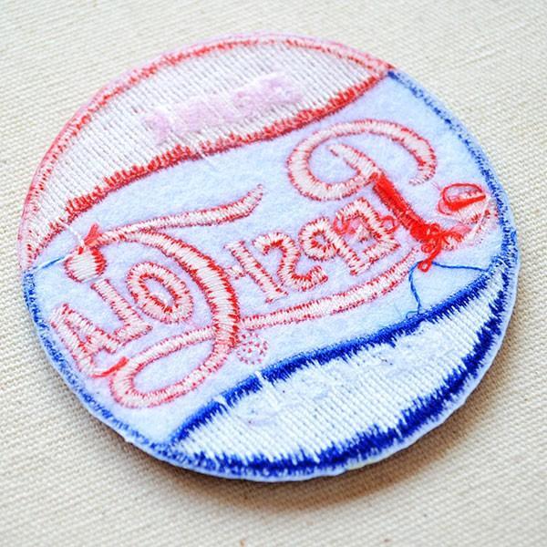 ワッペン ペプシコーラ Pepsi-Cola 名前 作り方 LEO-001|wappenstore|03