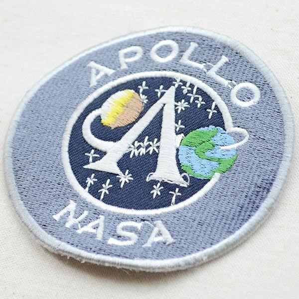 ロゴワッペン アポロナサ APOLLO NASA(Mサイズ) 名前 作り方 LGW-016 wappenstore 02