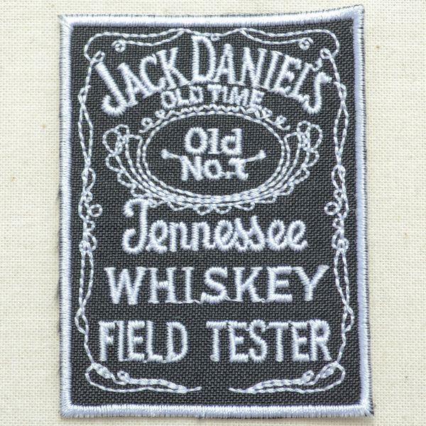 ロゴワッペン ジャックダニエル Jack Daniel's(レクタングル) wappenstore