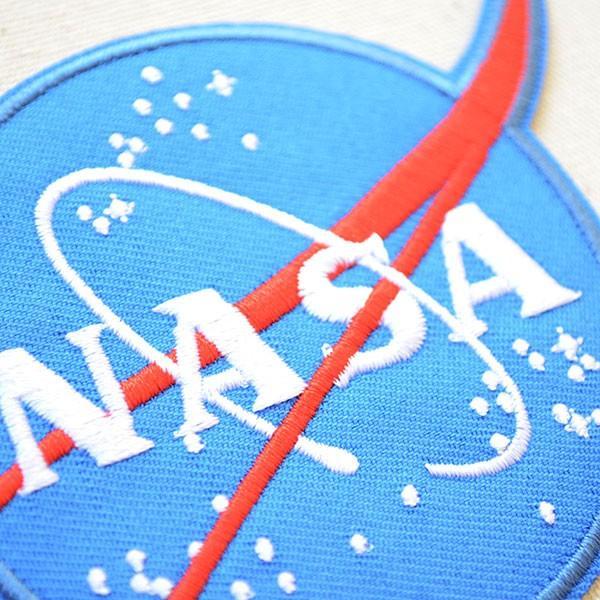 ロゴワッペン NASA ナサ エンブレム 名前 作り方 NFC-001-IA|wappenstore|02