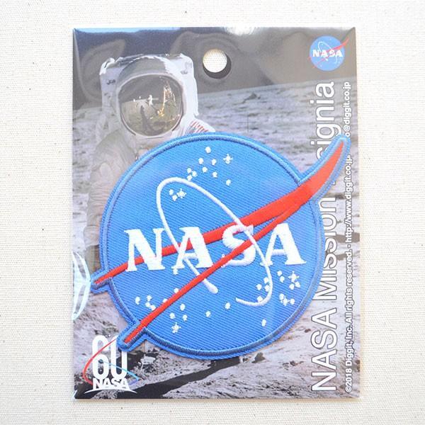 ロゴワッペン NASA ナサ エンブレム 名前 作り方 NFC-001-IA|wappenstore|04