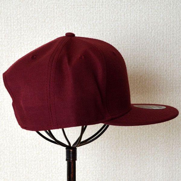帽子/キャップ オットー Otto フラットバイザー ウールブレンド(バーガンディ) H0978 *メール便不可|wappenstore|03
