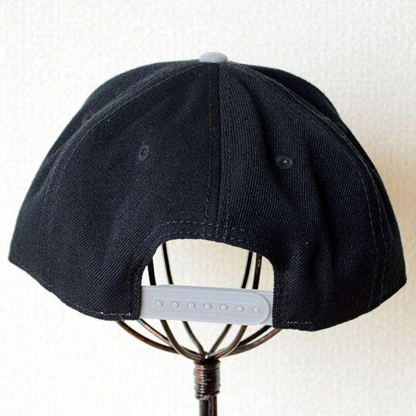 帽子/キャップ オットー Otto フラットバイザー ウールブレンド(グレー×ブラック) H0978 *メール便不可|wappenstore|04