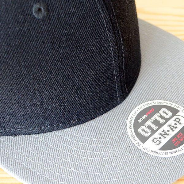 帽子/キャップ オットー Otto フラットバイザー ウールブレンド(グレー×ブラック) H0978 *メール便不可|wappenstore|05