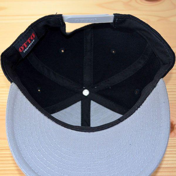 帽子/キャップ オットー Otto フラットバイザー ウールブレンド(グレー×ブラック) H0978 *メール便不可|wappenstore|06