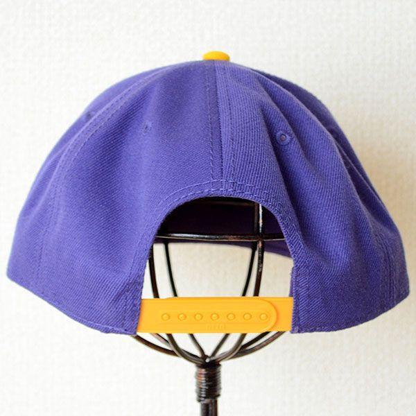 帽子/キャップ オットー Otto フラットバイザー ウールブレンド(イエローゴールド×パープル) H0978 *メール便不可|wappenstore|04