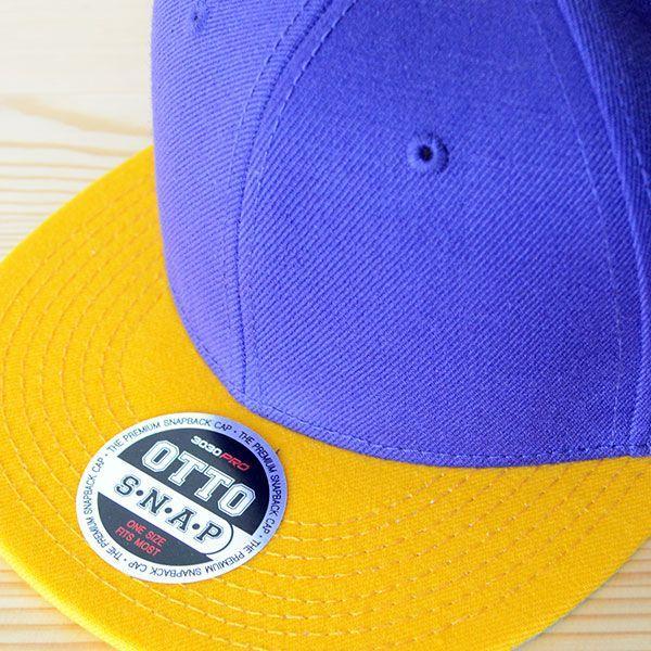 帽子/キャップ オットー Otto フラットバイザー ウールブレンド(イエローゴールド×パープル) H0978 *メール便不可|wappenstore|05