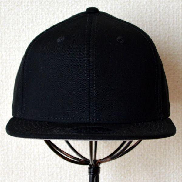 帽子/キャップ オットー Otto フラットバイザー コットンツイル(ブラック) H1038 *メール便不可 wappenstore 02