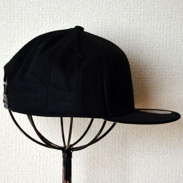 帽子/キャップ オットー Otto フラットバイザー コットンツイル(ブラック) H1038 *メール便不可 wappenstore 03