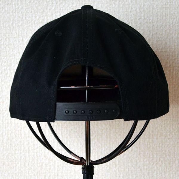 帽子/キャップ オットー Otto フラットバイザー コットンツイル(ブラック) H1038 *メール便不可 wappenstore 04