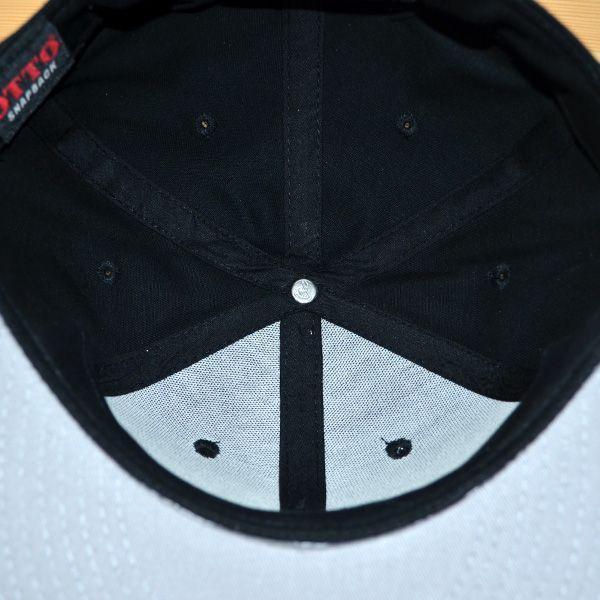帽子/キャップ オットー Otto フラットバイザー コットンツイル(ブラック) H1038 *メール便不可 wappenstore 06