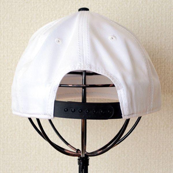 帽子/キャップ オットー Otto フラットバイザー コットンツイル(ブラック×ホワイト) H1038 *メール便不可|wappenstore|04
