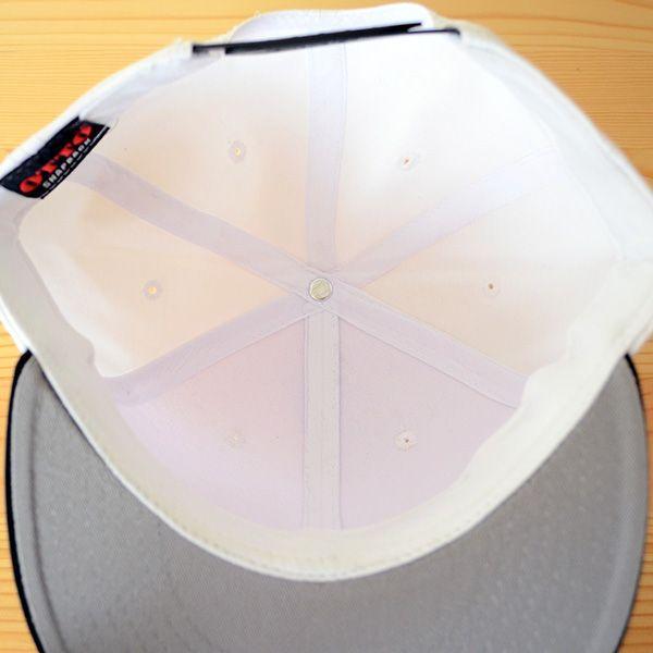 帽子/キャップ オットー Otto フラットバイザー コットンツイル(ブラック×ホワイト) H1038 *メール便不可|wappenstore|06