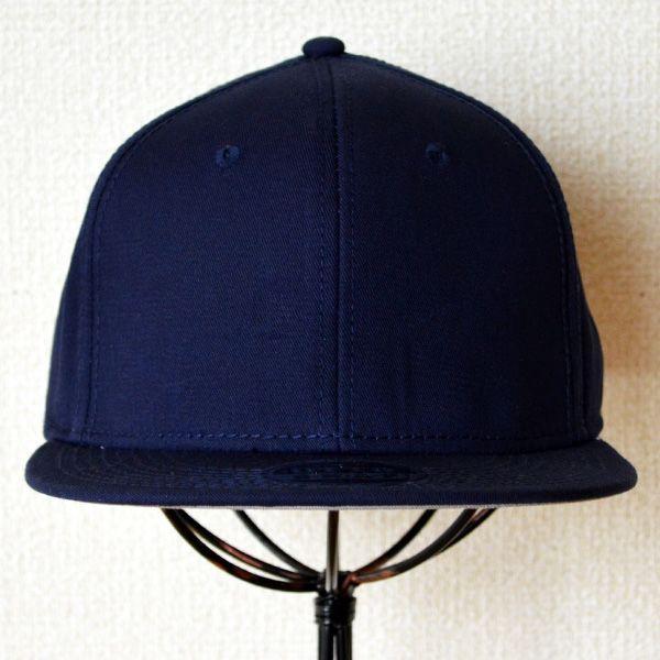 帽子/キャップ オットー Otto フラットバイザー コットンツイル(ネイビー) H1038 *メール便不可|wappenstore|02