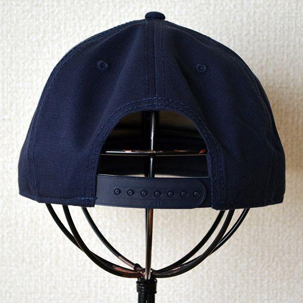 帽子/キャップ オットー Otto フラットバイザー コットンツイル(ネイビー) H1038 *メール便不可|wappenstore|04