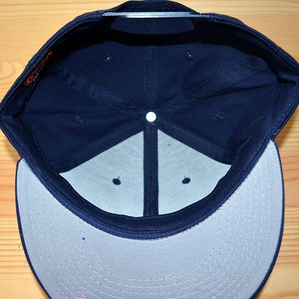 帽子/キャップ オットー Otto フラットバイザー コットンツイル(ネイビー) H1038 *メール便不可|wappenstore|06