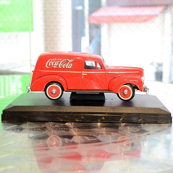 コカコーラ Coca-Cola ミニカー 1940年 フォード デリバリー(1/24) *メール便不可|wappenstore|02