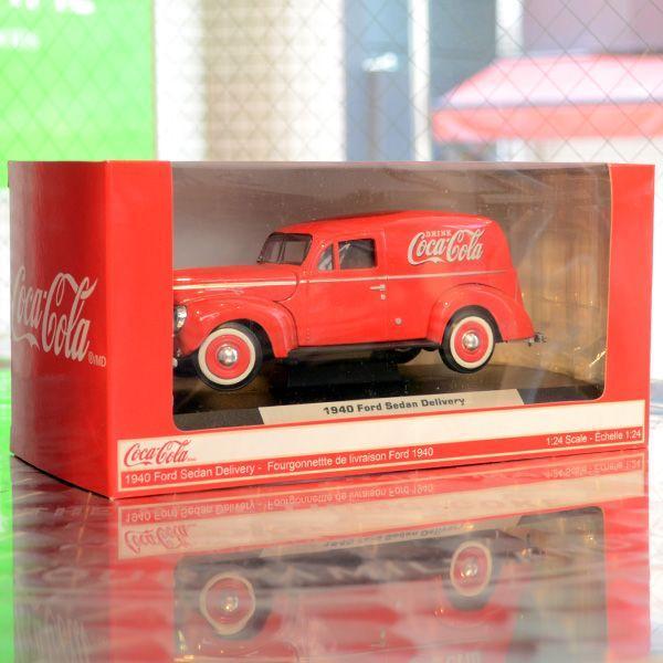 コカコーラ Coca-Cola ミニカー 1940年 フォード デリバリー(1/24) *メール便不可|wappenstore|06