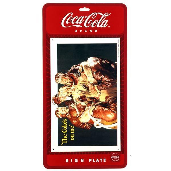 コカコーラ Coca-Cola 看板/サインプレート(フライボーイズ/43x26cm) PJ-SC04 *メール便不可|wappenstore|02