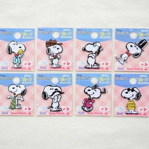 シールワッペン スヌーピー Snoopy(マスタッシュ/ヒゲ) S02Y9468 wappenstore 05