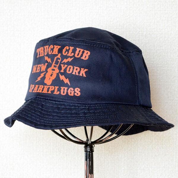 帽子/バケットハット トラックブランド Oil(ネイビー) U14 *メール便不可 wappenstore