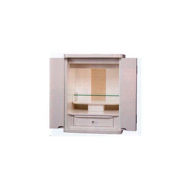 高級 新型仏壇|18号| ハミルトン  |ホワイト|家具調仏壇|日本製
