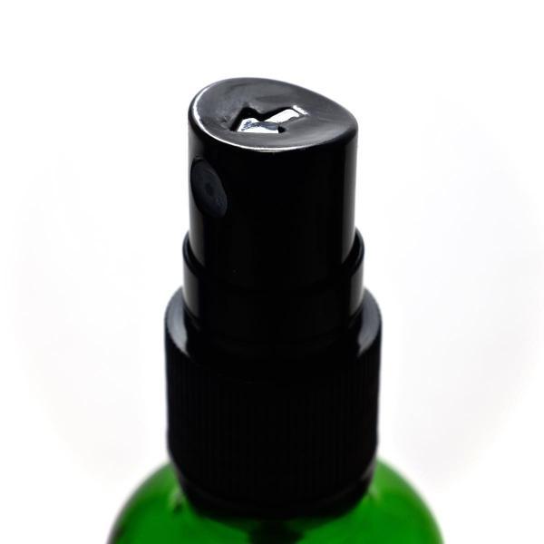 アロマ遮光瓶 50mL グリーン【ブラックフィンガースプレー】|warmeburo|02