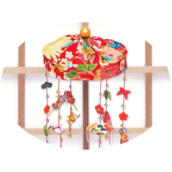 雛人形 ひな人形「輪飾り ミニ つるし雛」rh76 コンパクト リュウコドウ|wasai-kobo|02
