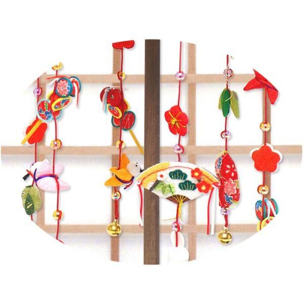 雛人形 ひな人形「輪飾り ミニ つるし雛」rh76 コンパクト リュウコドウ|wasai-kobo|03