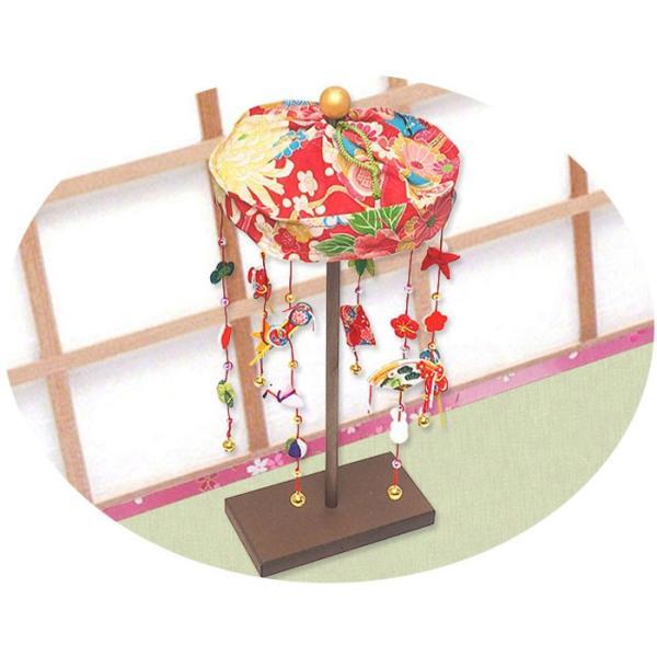 雛人形 ひな人形「輪飾り ミニ つるし雛」rh76 コンパクト リュウコドウ|wasai-kobo|05