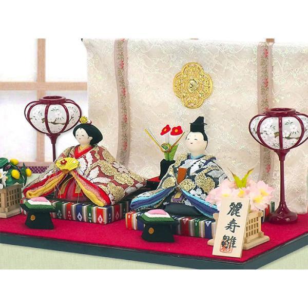 雛人形 ひな人形「麗寿彩り座り雛 親王飾り」rh192s コンパクト お雛様 リュウコドウ【和彩工房 限定オリジナル仕様】|wasai-kobo|03