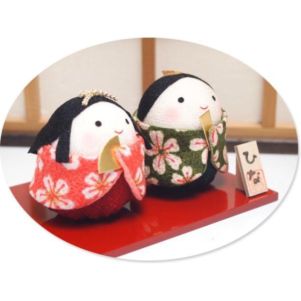 雛人形 ひな人形「ちりめん細工 おくるみおぼこ雛」rh312 コンパクト/リュウコドウ|wasai-kobo|02