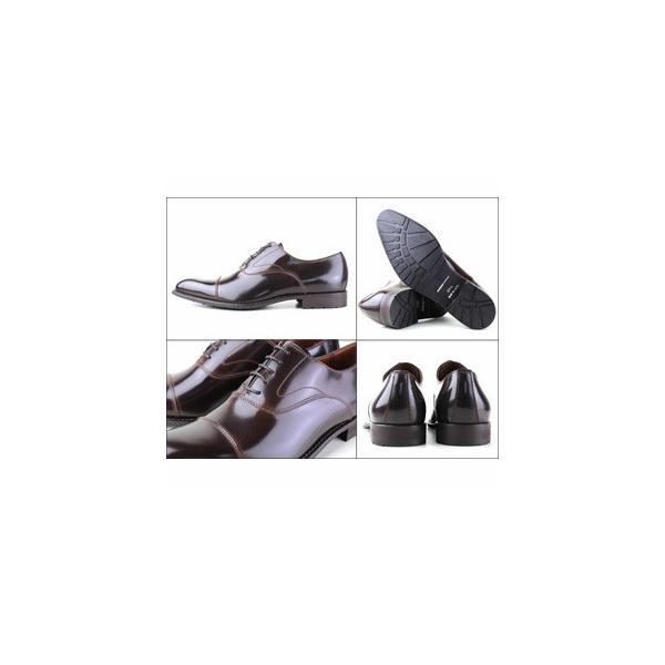 リーガルコーポレーション ケンフォード KENFORD KB48AJ ダークブラウン メンズ ビジネスシューズ ストレートチップ 紳士靴 送料無料|washington|02