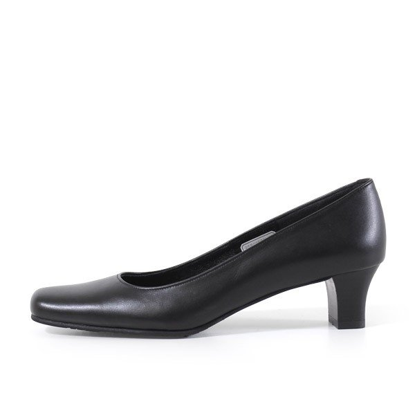リーガル レディース 黒 パンプス ローヒール 靴 REGAL 6768 本革 リクルート 就活 就職活動 仕事 冠婚葬祭|washington|06