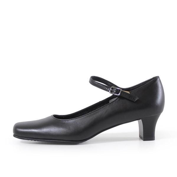 リーガル レディース 黒 パンプス ストラップ 靴 REGAL 6769 本革 リクルート 就活 就職活動 仕事 冠婚葬祭 washington 07