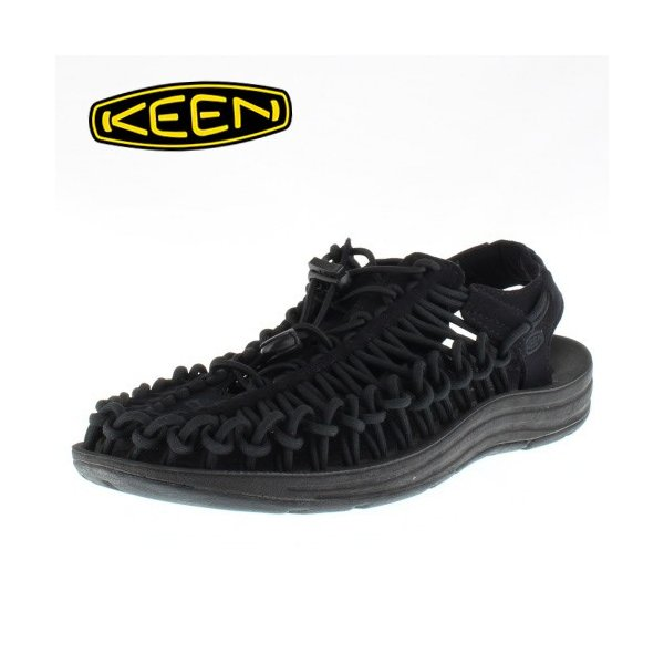 KEEN ユニーク レディース サンダル UNEEK Monochrome 1014099 11-14099 Black/Black|washington