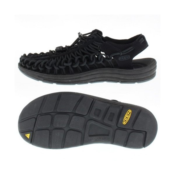 KEEN ユニーク レディース サンダル UNEEK Monochrome 1014099 11-14099 Black/Black|washington|02