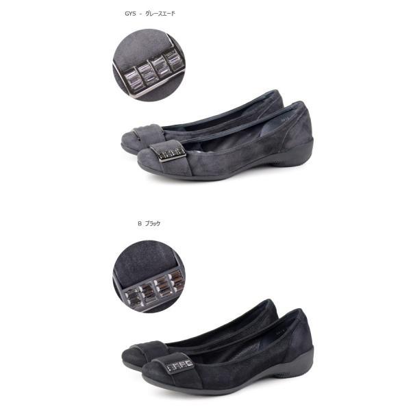 コンポジション9 COMPOSITION9 靴 2612 ベルト ストーン付き  コンフォートシューズ パンプス コンポジションナイン|washington|02