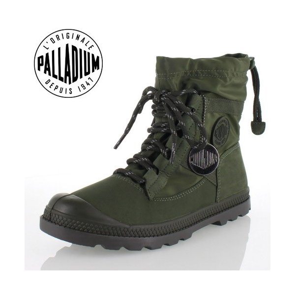 パラディウム PALLADIUM Pampa Hi Blitz LP 95169-360-M ARMY GREEN レインシューズ スニーカー  レディース ウォータープルーフ セール