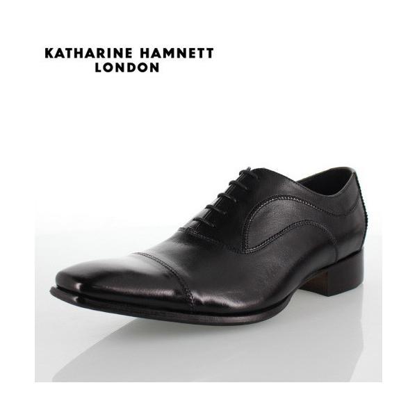 KATHARINE HAMNETT LONDON キャサリンハムネット 31504 メンズ ビジネスシューズ ブラック 黒|washington
