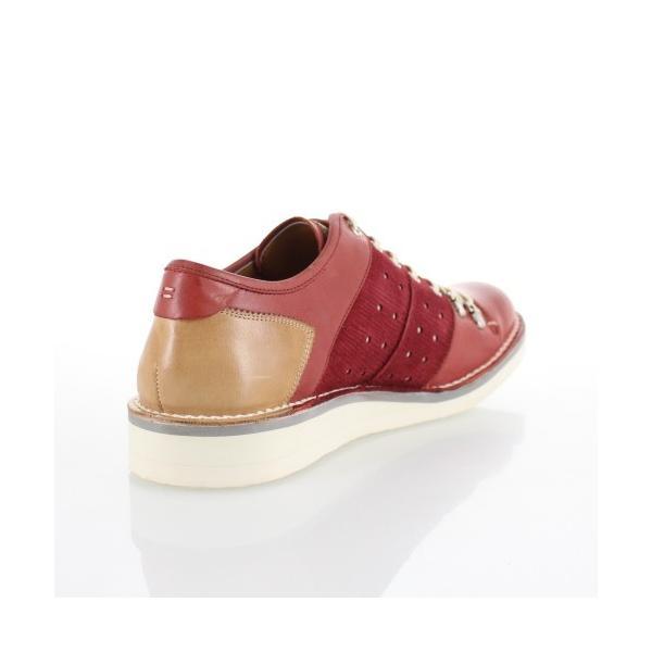 キャサリンハムネット HAMNETT 37002 レッド 靴 メンズ カジュアルシューズ|washington|03