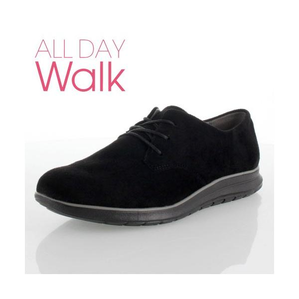 ALL DAY Walk オールデイウォーク 079 靴 ALD790 シューズ スニーカー 撥水加工 1E ベネトン アキレス 黒 ブラック レディース セール|washington