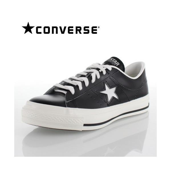 CONVERSE コンバース ONE STAR J ワンスター 46511 ブラック/ホワイト 黒 白 レディース スニーカー 靴|washington