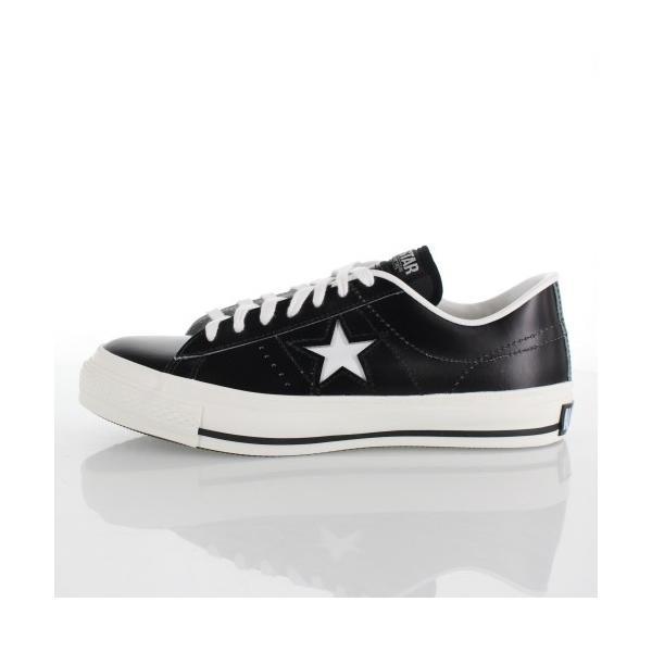 CONVERSE コンバース ONE STAR J ワンスター 46511 ブラック/ホワイト 黒 白 レディース スニーカー 靴|washington|02
