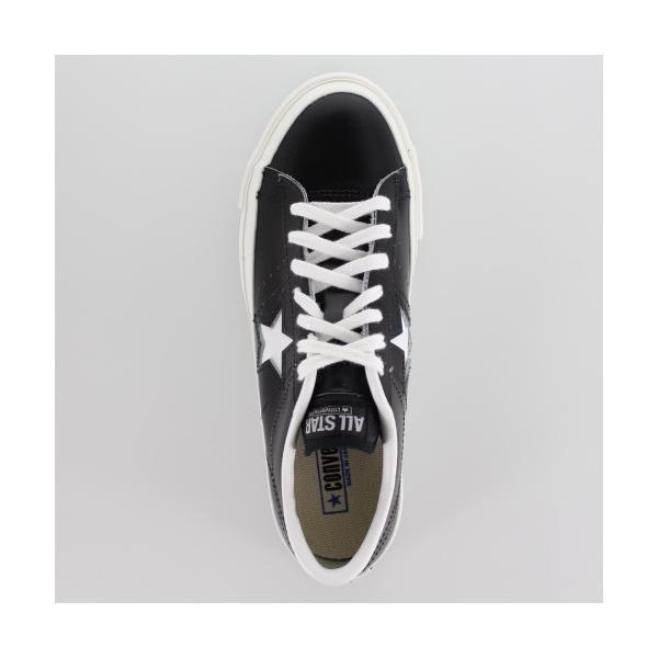 CONVERSE コンバース ONE STAR J ワンスター 46511 ブラック/ホワイト 黒 白 レディース スニーカー 靴|washington|04