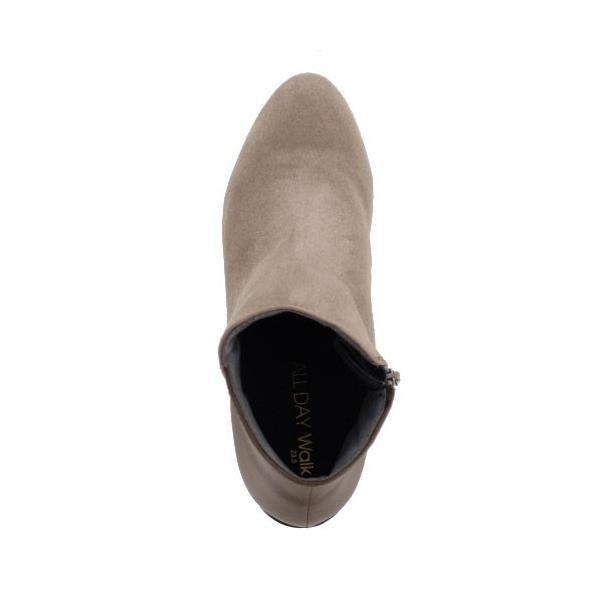 ALL DAY Walk オールデイウォーク 靴 00820 082 ショートブーツ あたたか 冬 2E 幅広 ヒールグレージュ レディース セール washington 04
