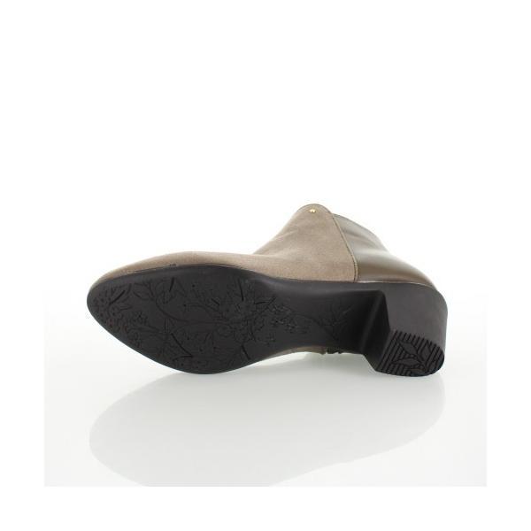 ALL DAY Walk オールデイウォーク 靴 00820 082 ショートブーツ あたたか 冬 2E 幅広 ヒールグレージュ レディース セール washington 05