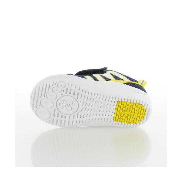 子供靴 スニーカー イフミー IFME Light ベビー キッズ シューズ 22-8001 NAVY 通園 通学 マジックテープ 運動靴 ネイビー|washington|05