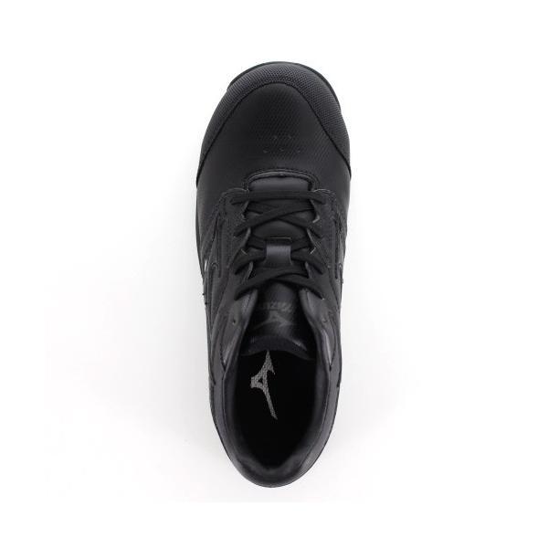 ミズノ 安全靴 MIZUNO オールマイティCS 紐タイプ C1GA171009 ブラック ワーキング スニーカー 作業靴 レディース 3E washington 04