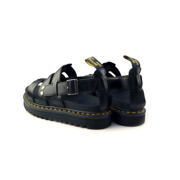 ドクターマーチン Dr.Martens 23521001 テリー ストラップ サンダル ZEBRILUS TERRY BLACK BRANDO メンズ レディース 靴